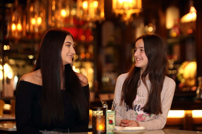 A selfless teen that has helped an Albanian girl settle into the UK