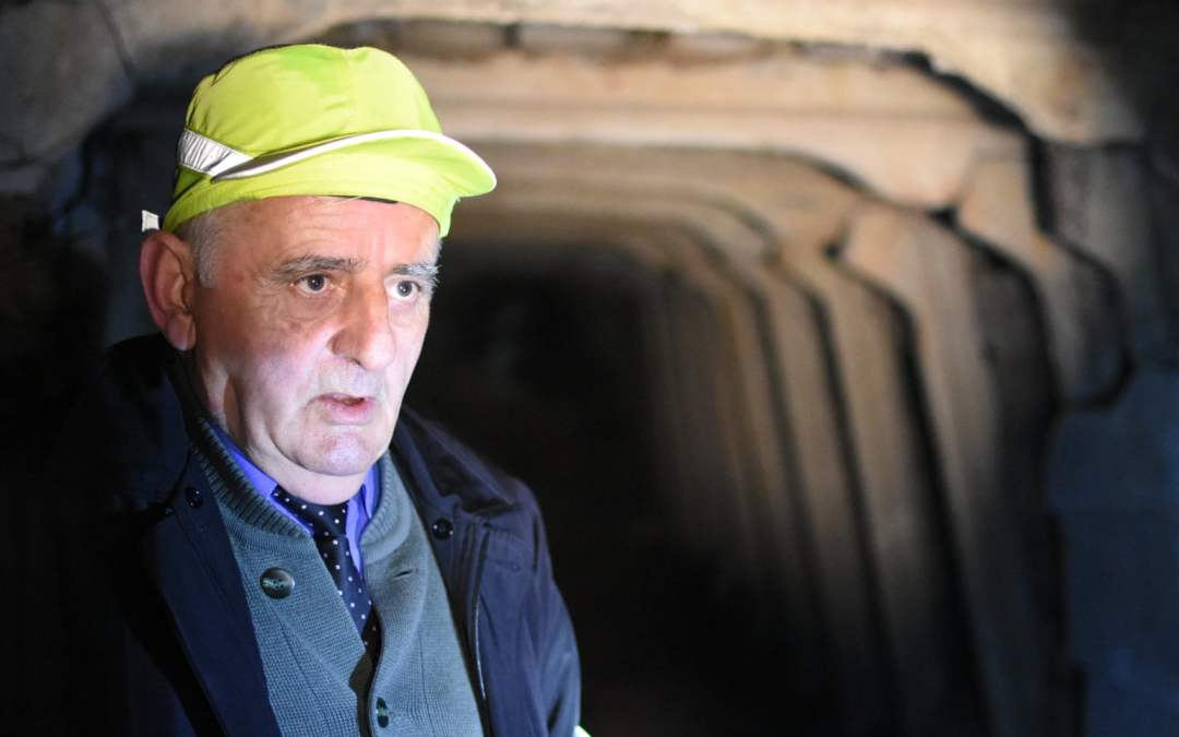 The man who built Albania's underground Stalinist city