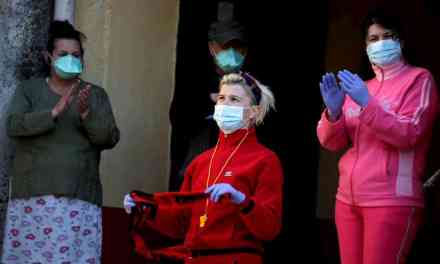 Reuters: Dancing on the rooftops as lockdown concert lifts spirits in Albania