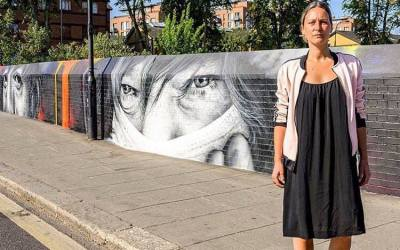 Video: British Albanian artist, Alketa, uses installations to highlight social injustices and inequalities