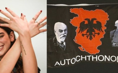 Dua Lipa's patriotic tweet isn't in support of Albanian extreme nationalism, it is a reaction towards the Serbian right-wing extremism