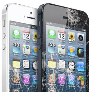 Cracked iPhone repairs