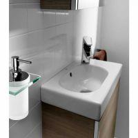 Roca Mini Vanity Unit with Mirrored Cabinet : UK Bathrooms