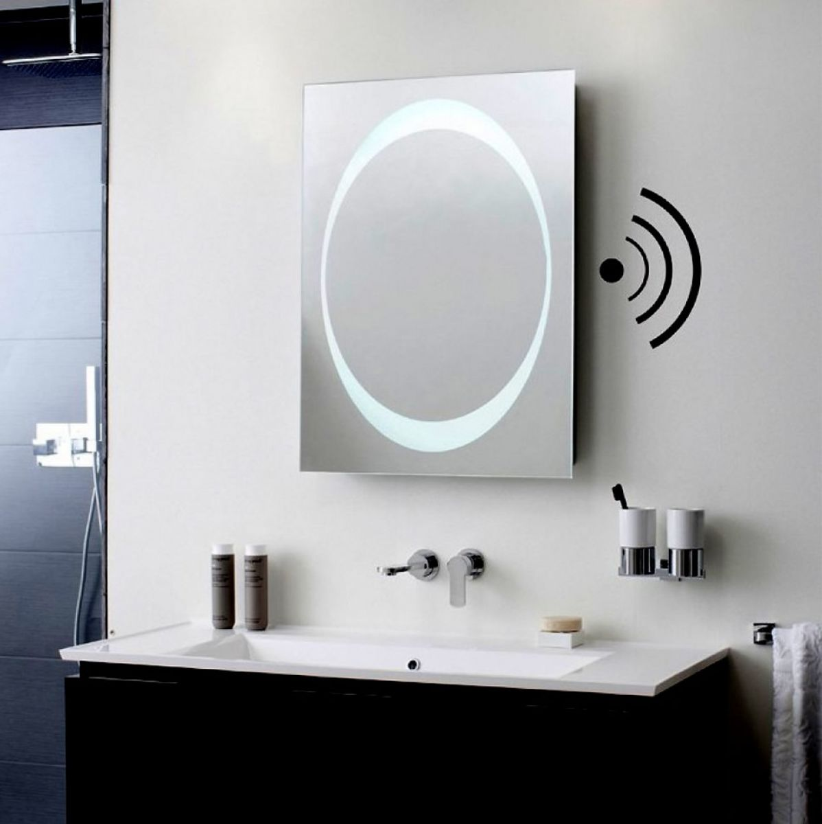 Bauhaus Revive 10 LED Mirror with Bluetooth Speakers  UK Bathrooms