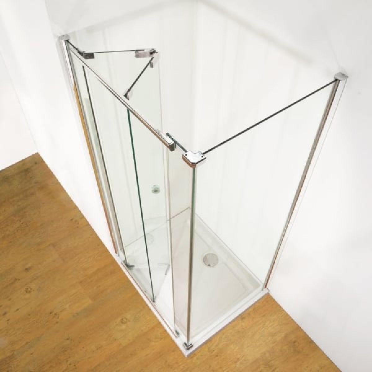 Kudos Infinite Inward Opening Bi Fold Shower Door
