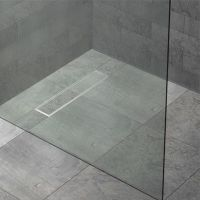 Kudos FLOOR4MA Wetroom Shower Base with Linear Drain : UK ...