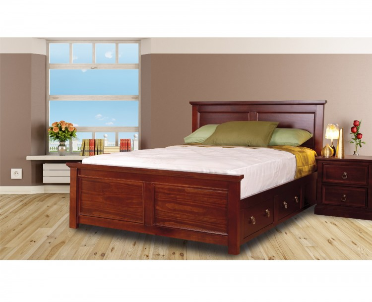 Sweet Dreams Wagner 5ft Kingsize Bed Frame With Under Bed