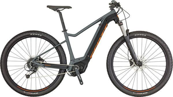SCOTT Mens Hardtail Electric Mountain Bike Electric Bikes