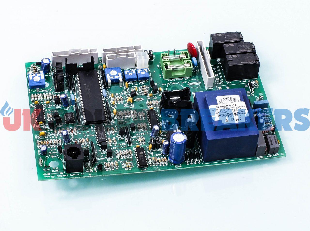Ariston Printed Circuit Board 65100248 GC- 47-116-16