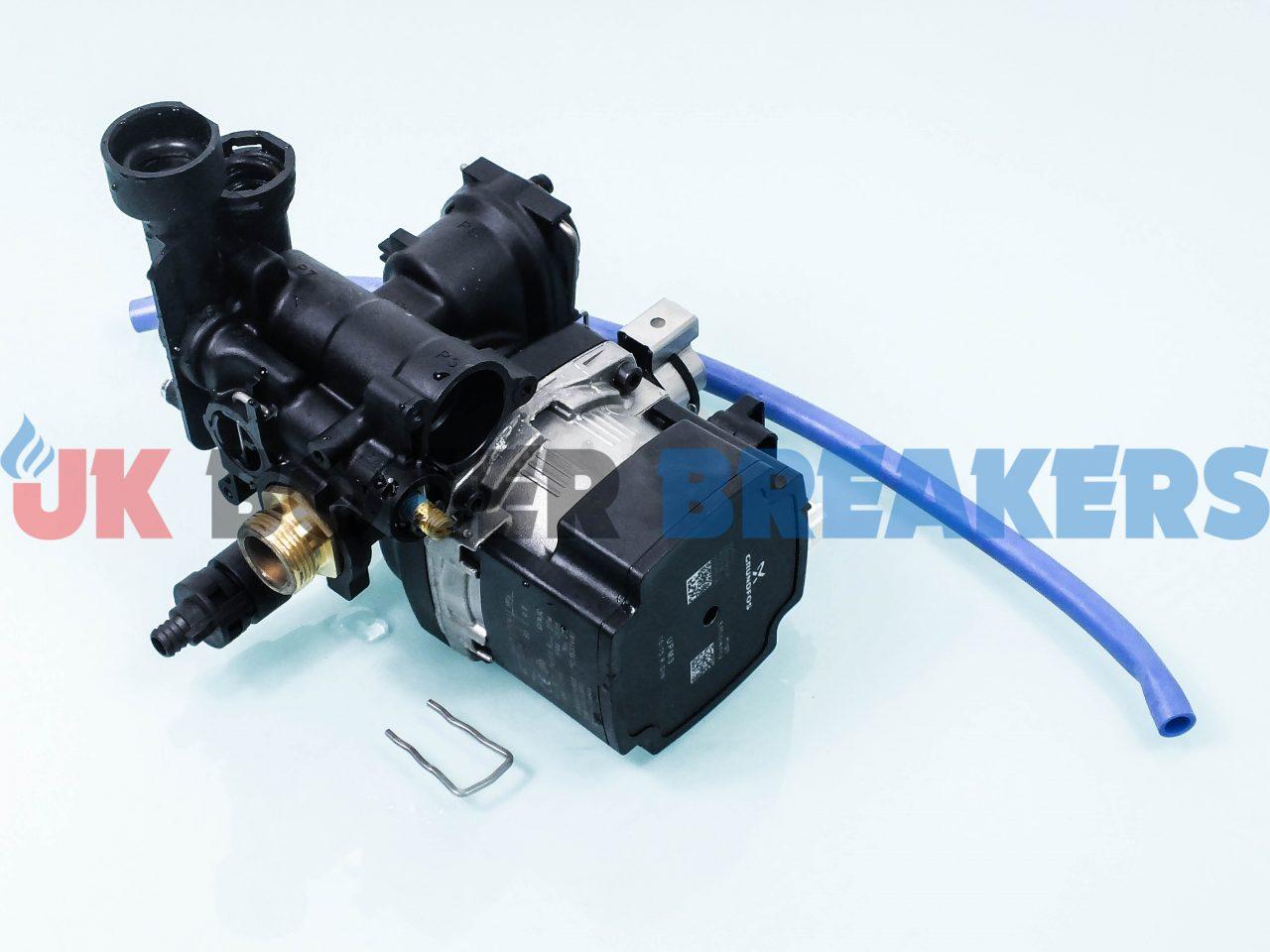 GlowWorm Pump Motor with Housing 0020186160 GC- 47-019-26 1