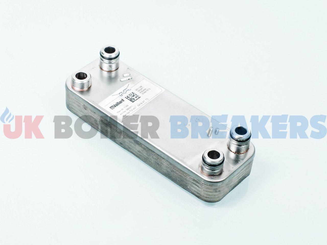 Vaillant Heat Exchanger 065088 GC- 47-044-04 1