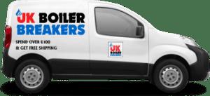 uk boiler breakers delivery van
