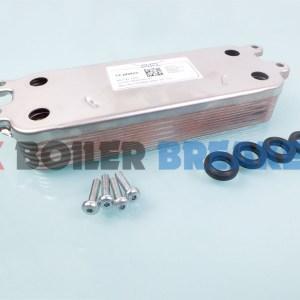glowworm 0020186152 heat exchanger 12 plate dhw
