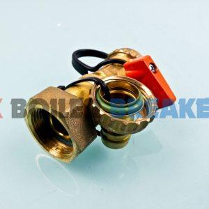 """heatrae sadia 95605119 3/4"""" bsp flush and fill valve 1"""