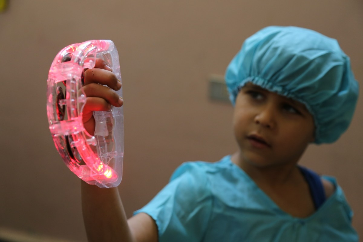 UK Care for Children - A child from Lebanon's Beqaa Valley - Wants to be a Doctor