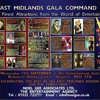 East Midlands gala command show