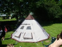Pro Action/Argos 4 Person Teepee Tent Reviews and Details