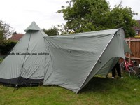Green Outdoor Tipi 6 Polyester Tent Reviews and Details