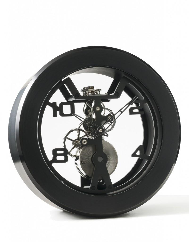 Matthew Norman Wind Modern Skeleton Clock Carlton Clocks