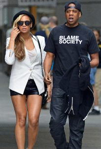 Jay-Z and Beyonce Blame Society
