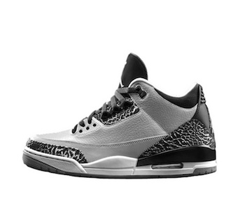 NIKE AIR JORDAN 3 RETRO – WOLF GREY
