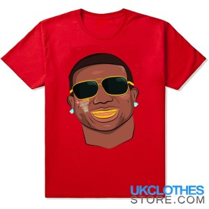 GUCCI MANE FACE RED