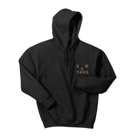 I FEEL LIKE PABLO BLACK NEW YORK HOODIE