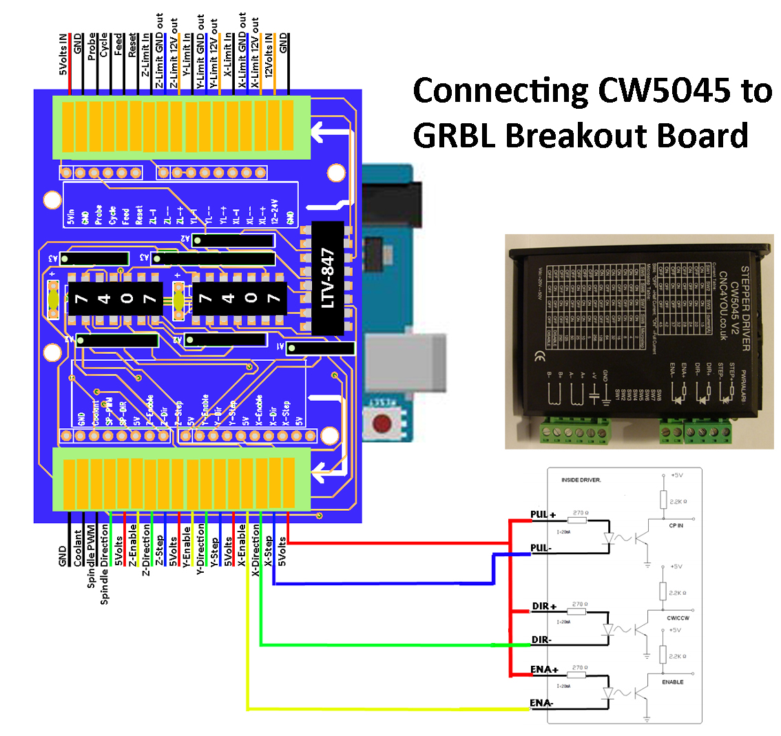 Db25 Breakout Board Wiring Diagram | Wiring Liry on