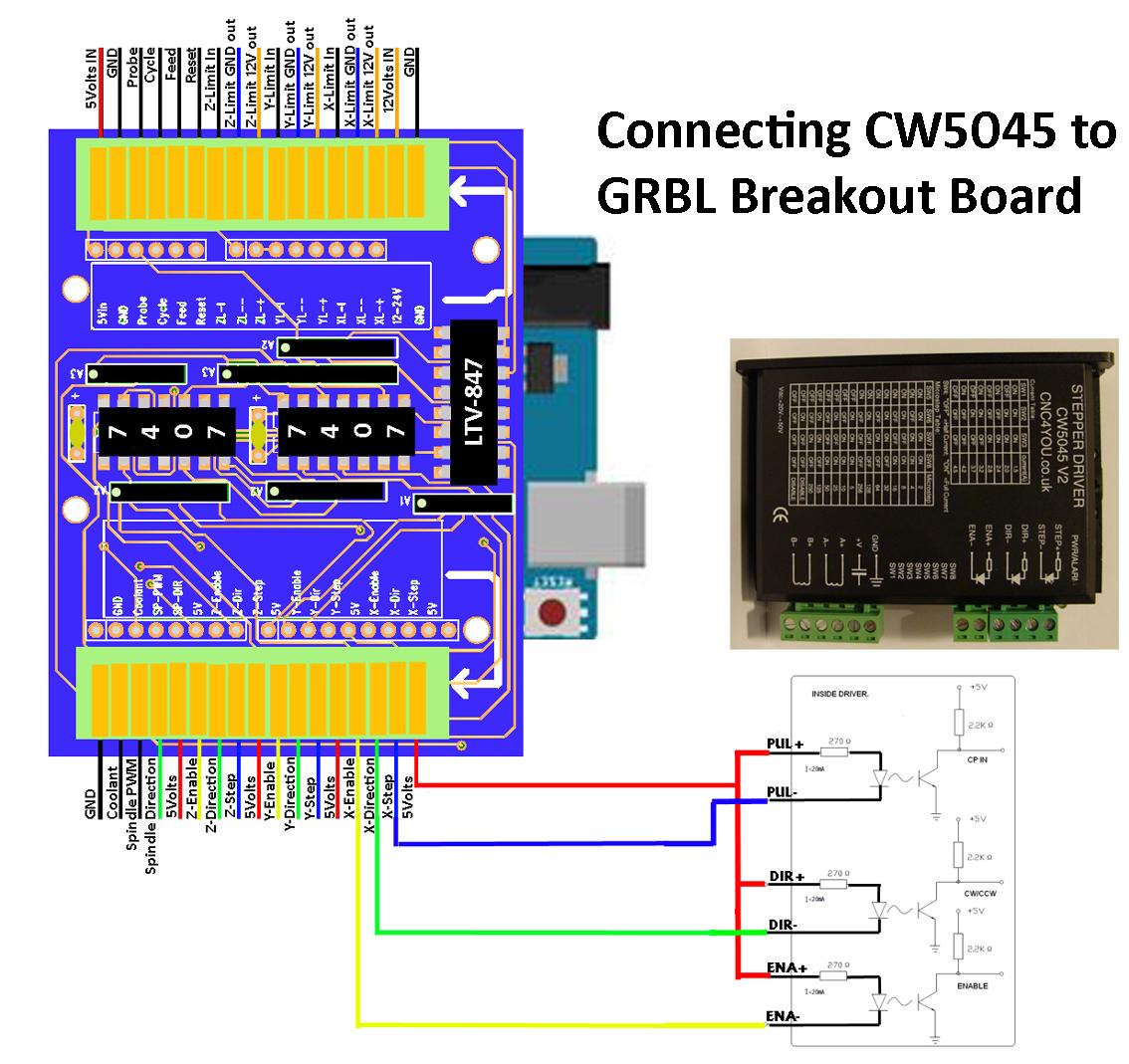 5 axis cnc breakout board wiring diagram motor db25 dodge caravan 3 8