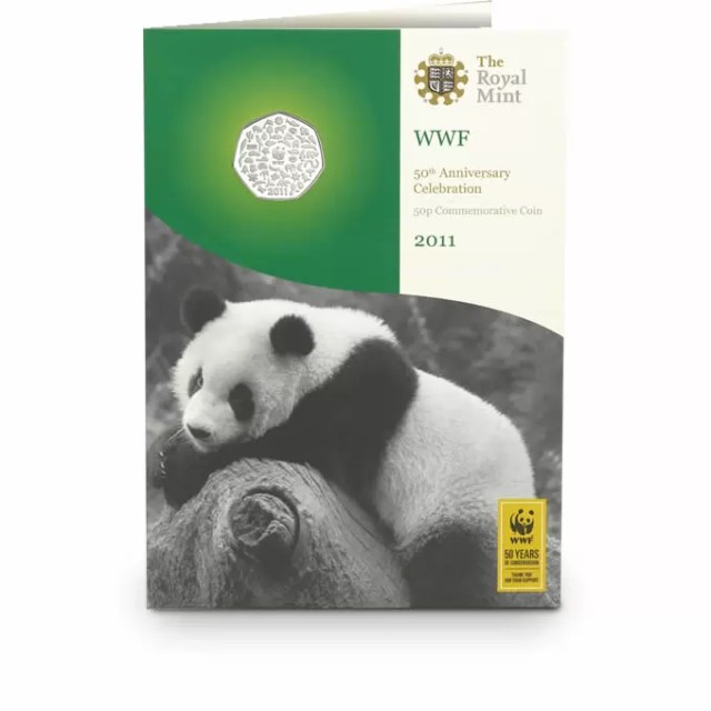 WWF 50p BU Coin Pack