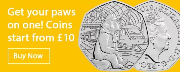 Paddington 50p BU Coins
