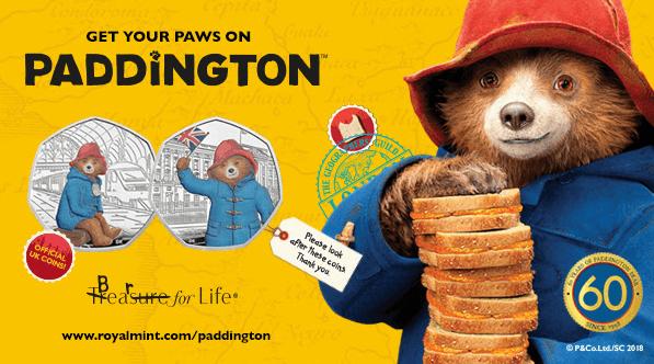 Paddington 50p 2018