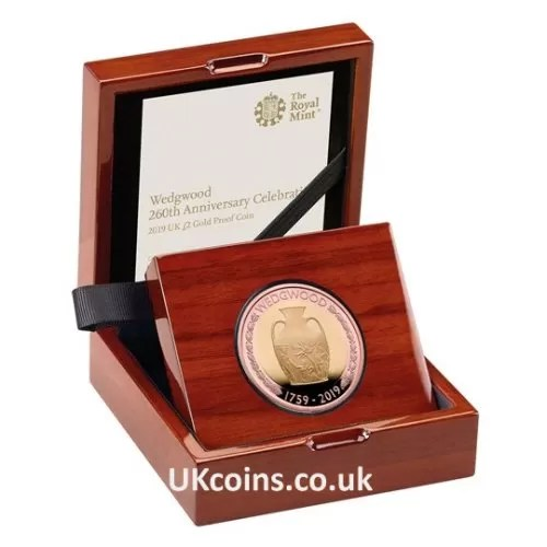 Wedgwood Gold Proof Coin