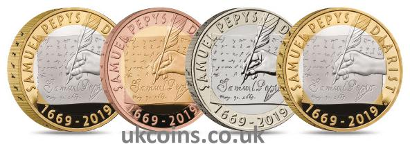 samuel pepys coins