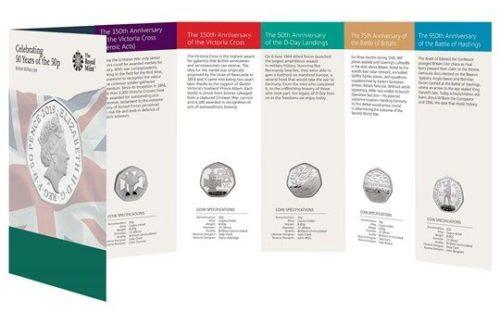 Military BU coin set
