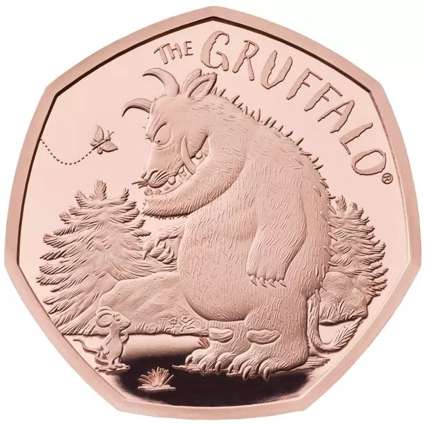 The Gruffalo 50p Gold Proof Coin