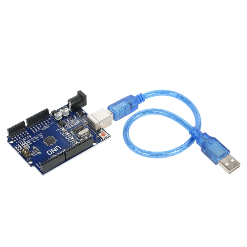 1-pack UNO R3 ATmega328P CH340 USB Board Development Board Newly Improved Version