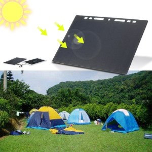 10W Portable Silicon Solar Panel Charger USB Port for Cell Phone