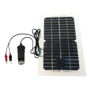 18V 5.5W 31.5 x 16.5 x 0.15CM Semi Flexible Solar Panel With Cables