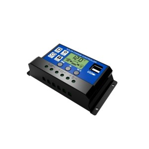 30A Solar Panel Controller HD LCD Battery Charge Regulator Intelligent Controller for Home Use Street Lamp