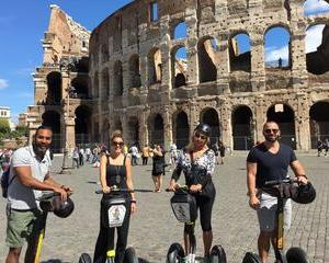 Ancient Rome Segway Tour with Virtual Reality headsets