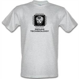 Indian Technology male t-shirt.