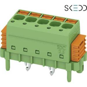 Phoenix Contact Pin enclosure - PCB SDC Total number of pins 3 Contact spacing: 5 mm 1864040 1 pc(s)