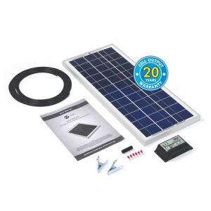 Solar Technology International PV Logic 20Wp Solar Panel Kit & 10Ah Charge Controller