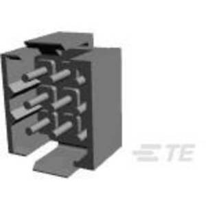 TE Connectivity Pin enclosure - PCB Metrimate Total number of pins 9 Contact spacing: 5 mm 207441-8 1 pc(s)