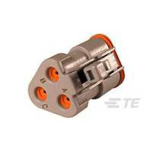 TE Connectivity Socket enclosure - cable DT Total number of pins 3 DT06-3S-E003 1 pc(s)