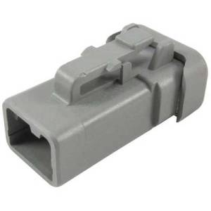 TE Connectivity Socket enclosure - cable DTP Total number of pins 2 DTP06-2S-E003 1 pc(s)