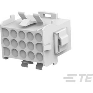 TE Connectivity Socket enclosure - cable MATE-N-LOK Total number of pins 15 Contact spacing: 6.35 mm 770030-1 1 pc(s)