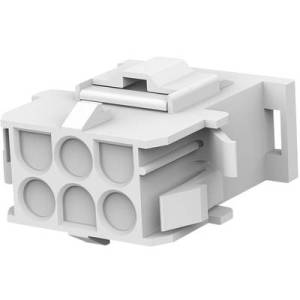 TE Connectivity Socket enclosure - cable MATE-N-LOK Total number of pins 6 Contact spacing: 6.35 mm 770027-1 1 pc(s)