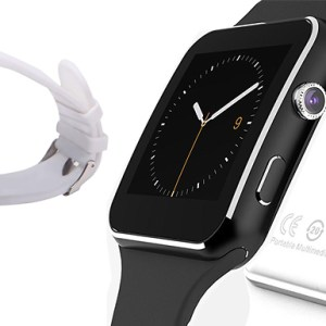 X6 Apple & Android Compatible Smart Watch - 2 Colours